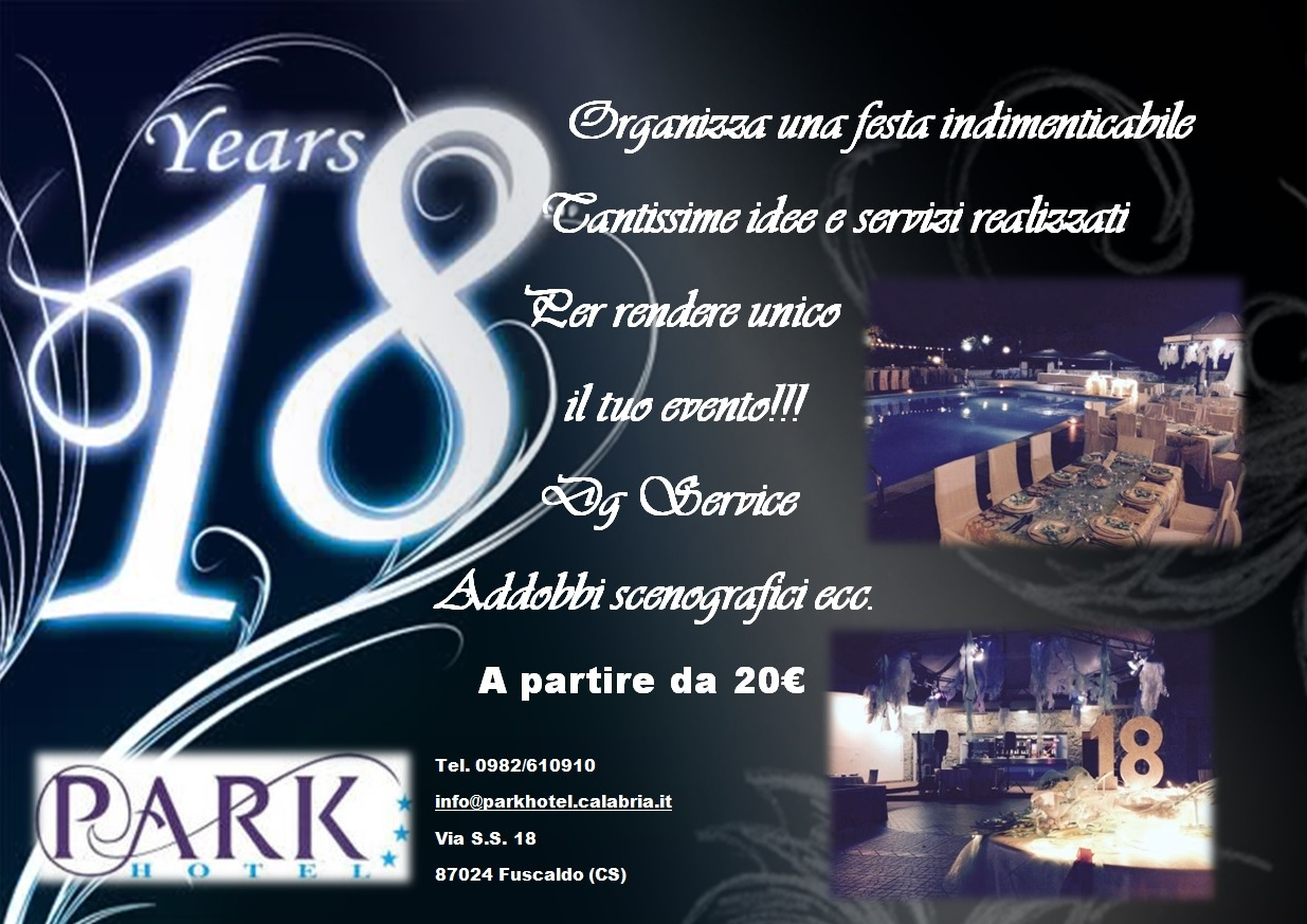 Compleanni al Park Hotel